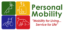 Personal Mobility Peoria Name and Logo